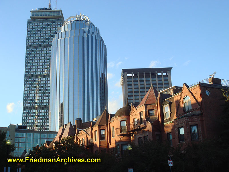 Old And New Buildings