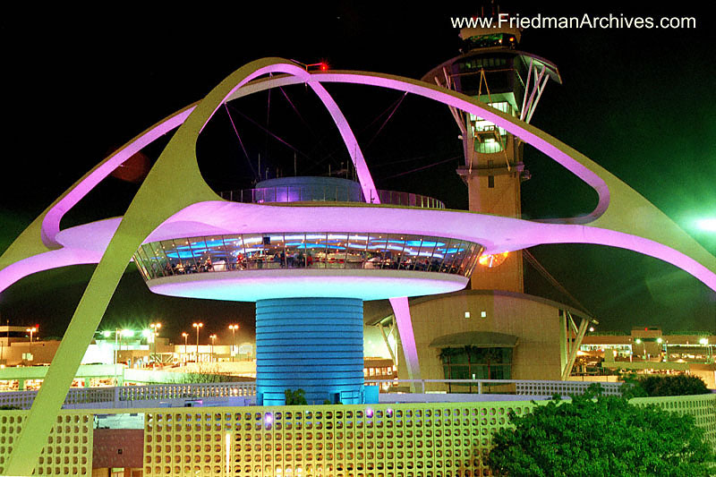 California Images/ LAX Theme Building