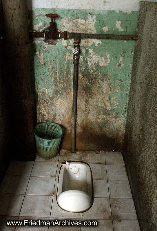 Tales from a Toilet:  Questioning Our Most Basic Assumptions