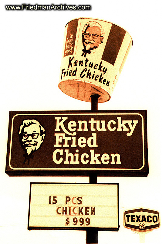 MiscellaneousImages / Old KFC Sign