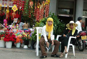There are more Muslims than Christians in China, and a good concentration of the population is in Hainan.