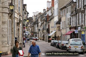A street in Beaune