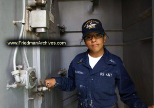 Female Sailor Portrait