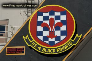 HS-4 Black Knights Logo