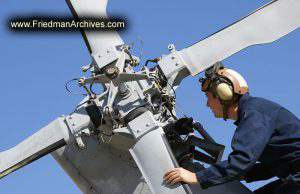 Inspecting Helicopter Rotors