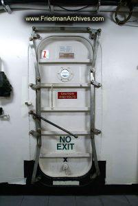 """""""No Exit"""" door"""