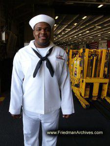 Sailor in White Uniform