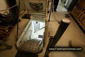 Stairway through the hatch