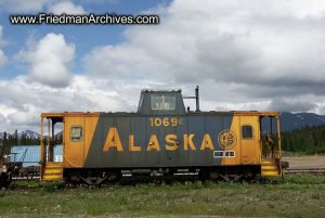 Alaska Train Establishing Shot