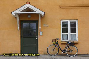 Bicycle and Door