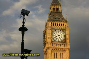 Big Ben with Survelience Camera