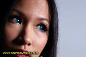 Blue Eyes via Contacts