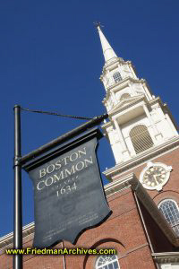 Boston Common Founded 1634