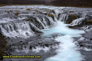 Bruarfoss Waterfall