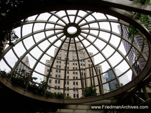 Building-Behind-Wood-Dome