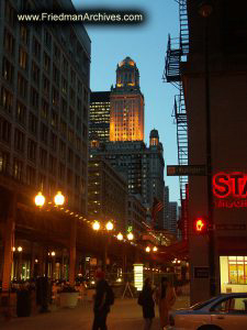 Buildings at Twilight