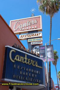 Cantor's Deli - Front Sign