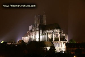 Cathedral St. Etienne at Night