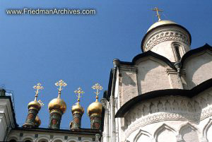 Church Gold Rooftops