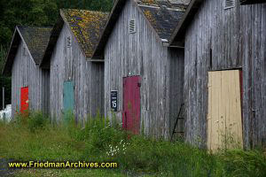 Colorful Barn Doors