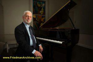 Danny Brodsley Piano Portrait
