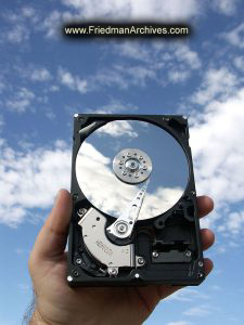 Disk Drive and Clouds