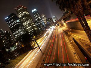 Downtown LA Freeway
