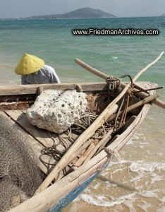 Fishing Boat and Yellow Hat