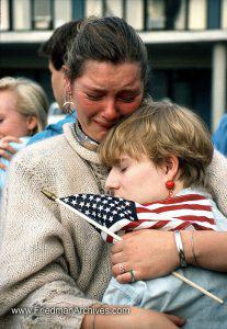 Flag Crying Shot