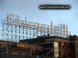 Ghiradelli Sign