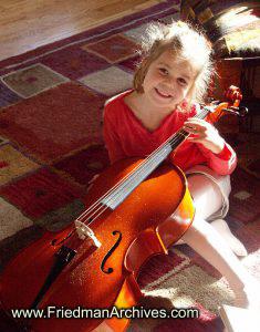 Girl and Cello
