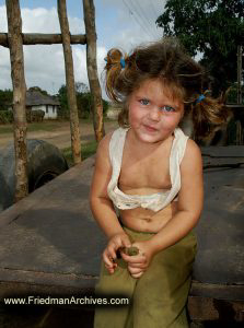 Girl with Dirty Face