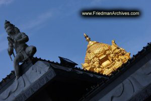 Gold Temple Roof