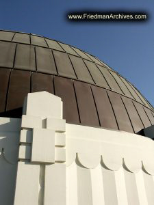Griffith Park Observatory Dome (vertical)