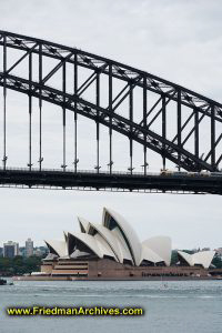Harbor Bridge and Opera House