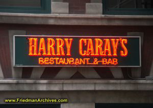 Harry Caray's Neon Sign