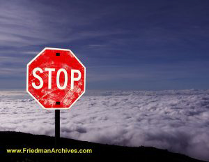 Heavenly Stop Sign