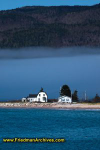 House and Fog Layer