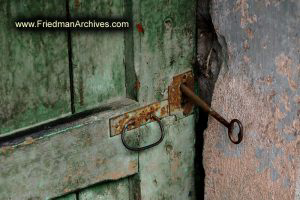 Key in Green Door