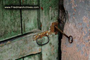 Key in Green Door