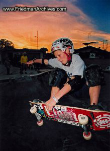 Kids and Sports Skateboard Kid at Sunset