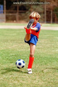 Kids and Sports Soccer Boy