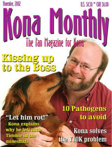 Kona Monthly Magazine Cover