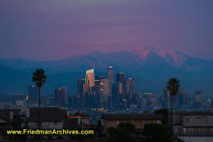 LA Skyline Pin Light
