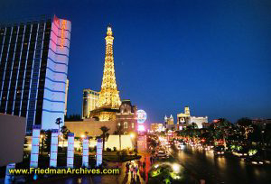 Las Vegas Strip at Twilight