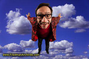 Steve Luchsinger Flying in Clouds