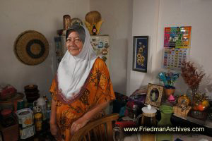 Muslim Woman at Home