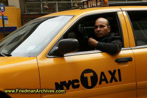 NYC Taxi driver