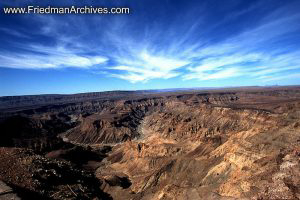 Namibia Images Snake Canyon Sweeping Sky
