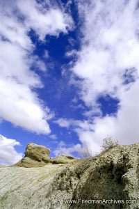 Small Rock and Sky